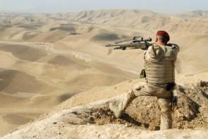 hilltop sniper