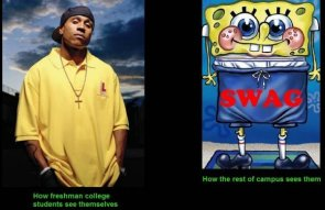 how freshman college students see themselves