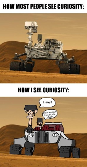 how most see curiosity