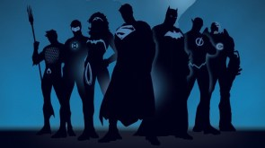 justice league in blue