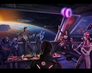 mass effect 3 party