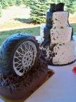 mud tire cake