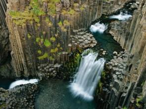 odd waterfall