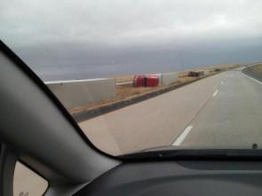 semi truck nap time