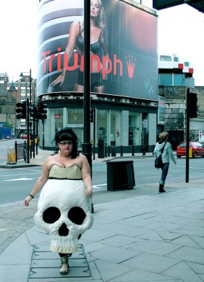 skull dress triumph