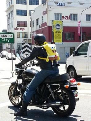 sponge bob biker