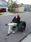 sporty wheelchair