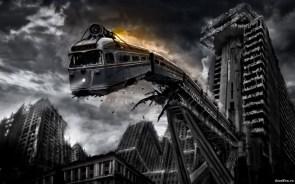 suicide rocket train