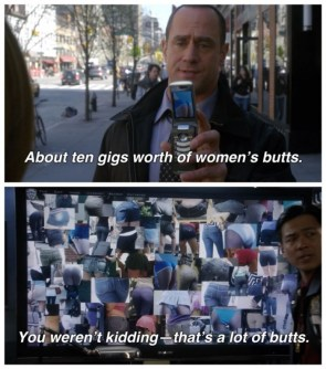 ten gigs worth of womens butts