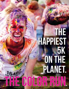 the happiest 5k on the planet – the color run