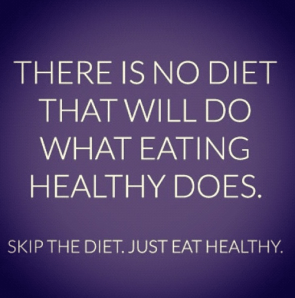there is not diet