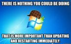 there is nothing you could be doing that is more important than updating and restarting immediately