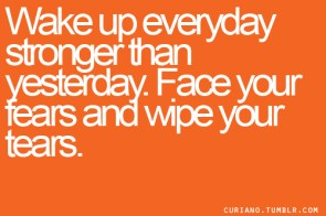 wake up everyday