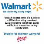 walmart – dignity for walmart workers
