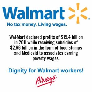 walmart – dignity for walmart workers