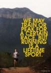 we may train or peak