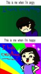when Im angry vs happy