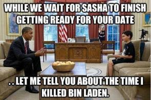 while we wait for sasha