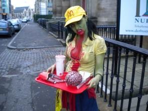 zombie mcd girl