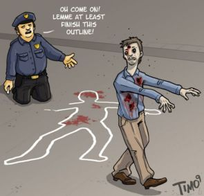 zombies hate chalk lines