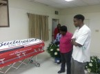 budwiser casket