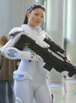 starcraft ghost cosplayer