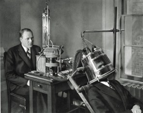 Dr FG Benedicts Latest Apparatus for Measuring Metabolism 1935