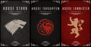 Game fo Thrones Banners