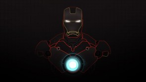 Iron man wireframe