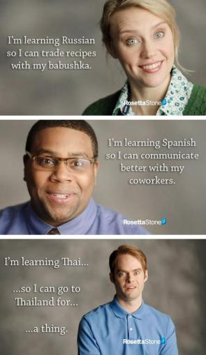Learning other languages
