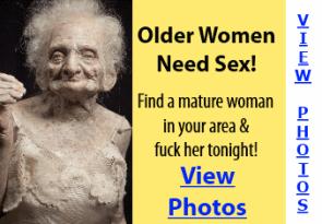 Older women need sex