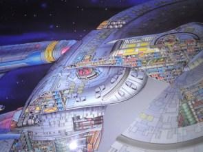 Star Trek – Enterprise cutaway