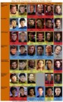 Star Trek – Names and Roles chart