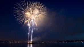 Water way fireworks