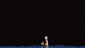 calvin and hobbes – night sky