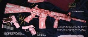 digital pink weapons