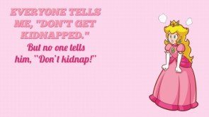 dont kidnap the princess peach