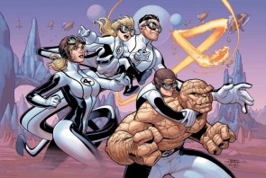 fantastic four 4 cover color by terry dodson