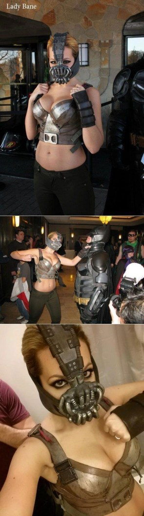 female bane cosplayer