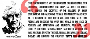 howard zinn – civil disobedience