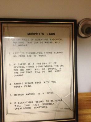 murphys laws