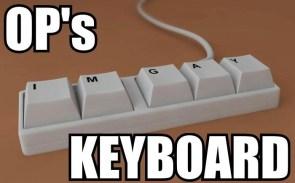 ops keyboard
