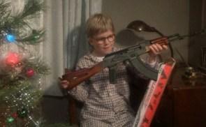 ralphie has an AK