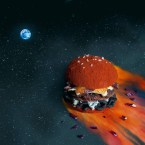 space hamburger