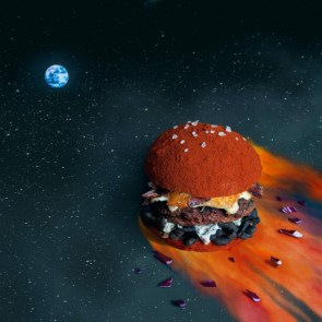 space hamburger