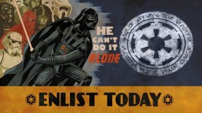 star wars – he cant do it alone – ENLIST TODAY
