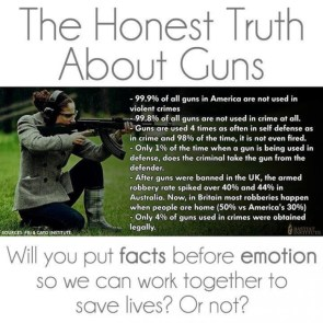 the honest truth about guns