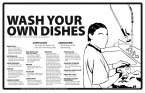 wash your own dishes