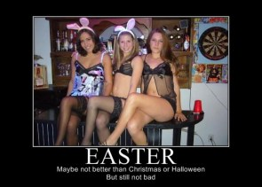 easter – maybe not better than christmas or halloween but still not bad