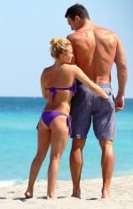 hayden panettiere – purple micro bikini